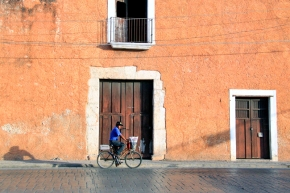 Early morning cycle ride, Mexico
